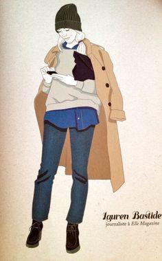 L'apparition surprise de Lauren Bastide dans le livre « So Basic So Chic » | DailyELLE