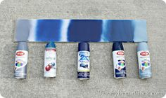 Helpful tips and tricks on how to use spray paint! Helpful tips and tricks on how to use spray paint! Spray Paint Tips, Blue Spray Paint, Spray Paint Furniture, Spray Painting, Painting Tips, Painted Furniture, Rustoleum Spray Paint Colors, Painted Wicker, Furniture Refinishing