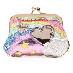 Irregular choice over the rainbow purse. Unique Handbags, Unique Purses, Handmade Handbags, Cute Purses, Cheap Handbags, Luxury Handbags, Purses And Handbags, Novelty Handbags, Luxury Purses