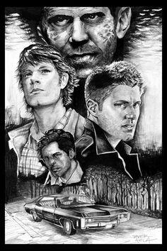 Supernatural collage | Source: Javier Avila