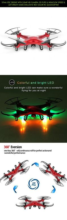 SYMA X5C Drone with 2.0MP HD Camera 3D Flips & High/Low Speed & Left/Right Mode Exclusive Red Color RC Quadcopter #plans #shopping #gadgets #parts #products #outdoor #technology #racing #fpv #syma #tech #camera #helicopter #drone #kit
