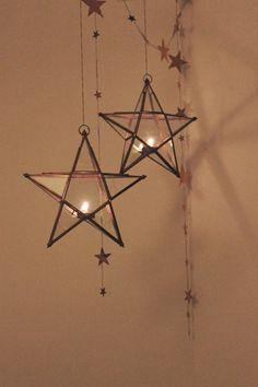 Sterne aus Negerkuss-Verpackung