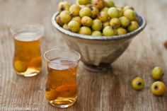 Wash a handful of hawthorn berries real well & + a quart of fresh water. Bring to a simmer & let them simmer over gentle heat for 10-20min.