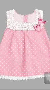 Vestido Nekenia, ropa infantil al mejor precio – Mamyka A beautiful special occasion dress by Nellystella in a pink tulle with embroidered flowers throughout. Features tiered ruffle sleeves, a bow at the back and lace trim around the skirt. Frocks For Girls, Kids Frocks, Dresses Kids Girl, Little Girl Dresses, Kids Outfits, Baby Girl Dress Patterns, Baby Dress Design, Frock Design, Baby Dress Tutorials