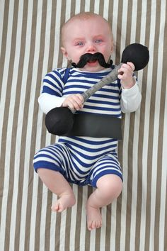 32 old man costumes for kids!Put the baby costumes in storage! Your little one is now big enough to trick-or-treat and he or she will need a toddler Halloween costume. Creative Baby Costumes, Cute Baby Halloween Costumes, Halloween Bebes, Diy Baby Costumes, Baby First Halloween, Toddler Costumes, Diy Halloween, Costume Ideas, Happy Halloween