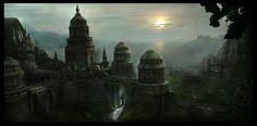 Arcane City by GutsBerserk