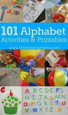 Alphabet Activities!
