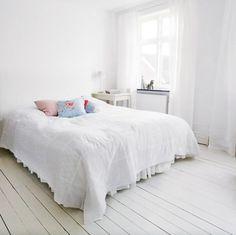Drømmer du om hvite gulv, men synes jobben virker uoverkommelig
