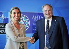 Οι σχέσεις Ελλάδας - Αλβανίας στο επίκεντρο της συνάντησης Κοτζιά – Μογκερίνι | altsantiri.gr