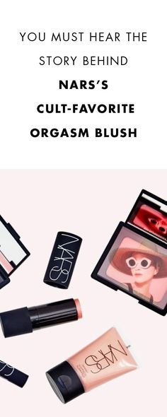 """The real story behind Nars' cult-favorite """"Orgasm"""" blush! Aren't you curious?"""