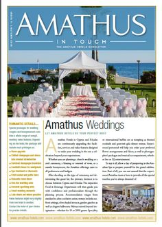 Amathus In-Touch Newsletter  Autumn '10
