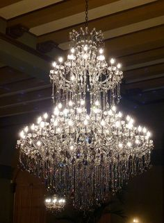 Restoration Project, The Foyer: This is the second grand chandelier model for the foyer. Paper Chandelier, Crystal Chandelier Lighting, Iron Chandeliers, Home Lighting, Lighting Design, Bubble Chandelier, Light Fittings, Light Fixtures, Luz Artificial