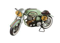 Light & Living Motorrad Vintage-Deko