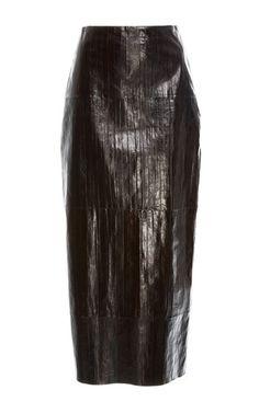 Rosetta Getty Pencil Skirt