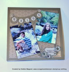 "Guest Stamper Debbie Mageed: The ""Maine Event"" posted by Mary Fish at Stampin' Pretty"