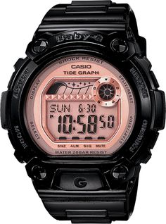 Casio Baby-G BLX100-1E  Tide Graph and Moon Data  200M Water Resistant $89