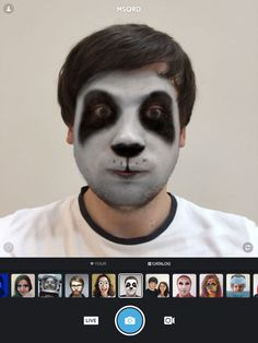 MSQRD — Live Filters & Face Swap for Video Selfies by Masquerade Technologies, Inc
