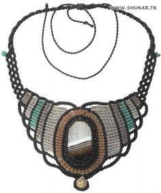 Shukar Creations | Smoky Quartz Macramé Necklace