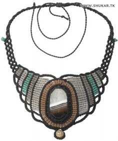 Shukar Creations | Smoky Quartz Macramé Necklace