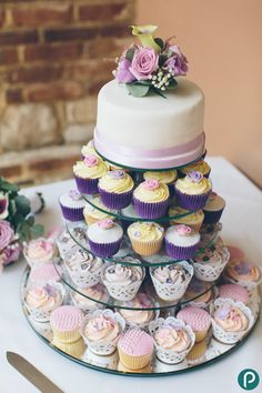 intimate cake for you guys and cupcakes for everyone else!