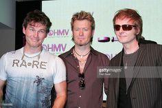 A-Ha 's singer Morten Harket, guitarist Paul Waaktaar-Savoy and keyboardist Magne Furuholmen.