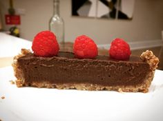 Raw Chocolate Ganache Torte