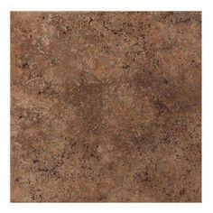 American Olean�8-Pack 18-in x 18-in Vallano Dark Chocolate Glazed Porcelain Floor Tile (Actuals 18-in x 18-in)
