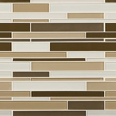 Artistic Tile | Opera Glass Collection; Interlude Gloss and Satin Mix Stilato Linear