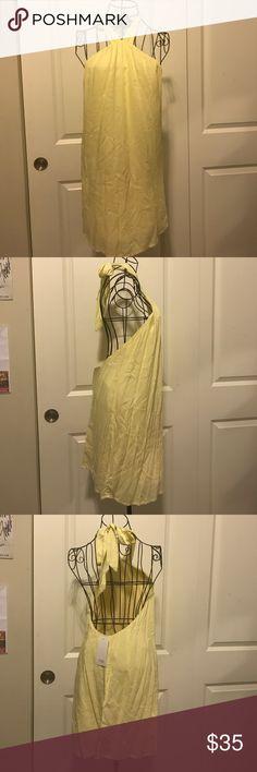 Tobi Yellow Tie Back Midi Dress Tobi Yellow Tie Back Midi Dress Tobi Dresses Midi