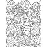 Make your world more colorful with printable coloring pages from Crayola. Our free coloring pages for adults and kids, range from Star Wars to Mickey Mouse Crayola Coloring Pages, Spring Coloring Pages, Easter Coloring Pages, Free Adult Coloring Pages, Cute Coloring Pages, Free Coloring, Easter Bunny Colouring, Easter Show, Bookmark Printing