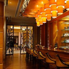 The Ritz-Carlton, Dubai International Financial Centre, Interior Design by HBA / Hirsch Bedner Associates