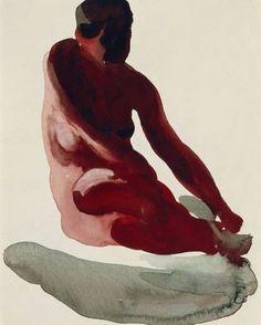 Georgia O'Keeffe, Nude Series, 1917.