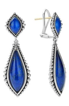 LAGOS 'Contessa' Semiprecious Double Drop Earrings
