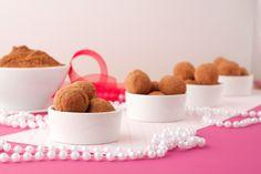 Pea-not Chocolate Truffles  Vegan, nut-free sweet chocolate truffles with no added sugars.