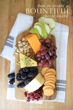 How to Build a Beautiful, Bountiful Cheese Board