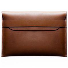 Kaufman Mercantile - Leather MacBook Air Sleeve (Brown)