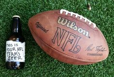 The perfect beer for every NFL team