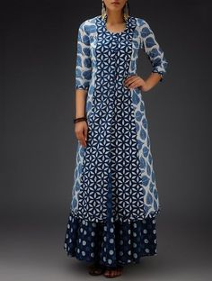 New Image : Designer Suits Salwar Designs, Kurta Designs Women, Blouse Designs, Kurta Patterns, Dress Patterns, Indian Attire, Indian Wear, Indian Dresses, Indian Outfits