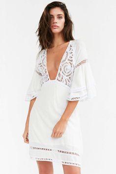 For Love & Lemons Carmine Mini Dress