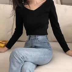 how to make outfits Cute Casual Outfits, Pretty Outfits, Stylish Outfits, Korean Girl Fashion, Look Fashion, Ulzzang Fashion Summer, Fashion Fashion, Fashion Women, Teen Fashion Outfits