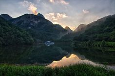 A Morning By The Lake At Mt. Maisan by Griffin Stewart on 500px