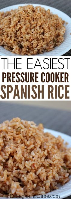 Try this Spanish rice pressure cooker recipe. This is the best Spanish Rice with brown rice you will make. Try this easy instant recipe today!