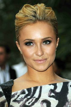 Hayden Panettiere. Like the strands. Or whatever that's called in the hair world.