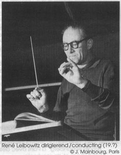 René Leibowitz (17 February 1913 – 29 August 1972), Polish, later naturalized French, composer and conductor,