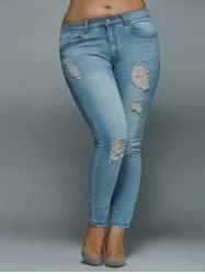 SHARE & Get it FREE | High Waisted Plus Size Skinny Ripped JeansFor Fashion Lovers only:80,000+ Items • New Arrivals Daily • Affordable Casual to Chic for Every Occasion Join Sammydress: Get YOUR $50 NOW!