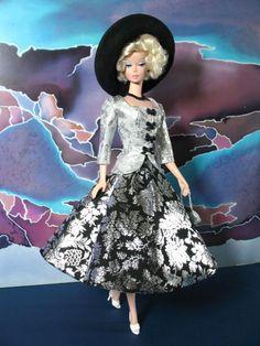 'Black & White Shine' Barbie.