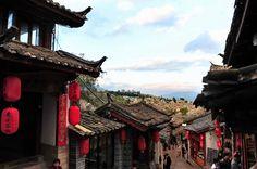 世界遺産 麗江旧市街 中国の絶景写真画像  中国