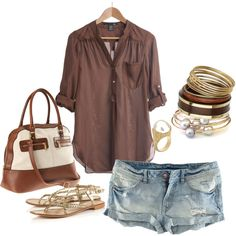 Super Cute! I want it to be summer right now so I can wear this...