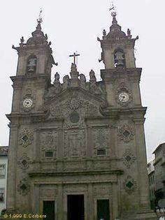 """11/43.- Braga, """"Igreja de Santa Cruz"""""""