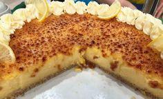 Tarta de limón en masa de almendras Macaroni And Cheese, French Toast, Deserts, Pizza, Breakfast, Ethnic Recipes, Food, Cala, Quiches
